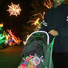 This was Charlotte's first visit to the Christmas lights.
