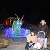 Carter, Liz, Charlotte and Susan with the sea serpent.