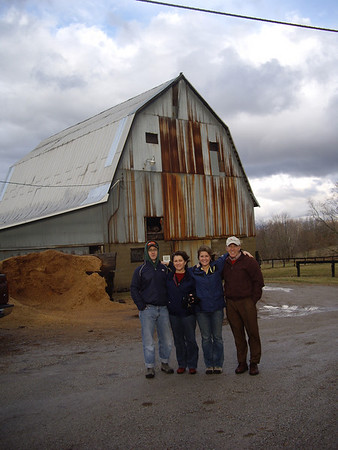 The Fam at the farm.