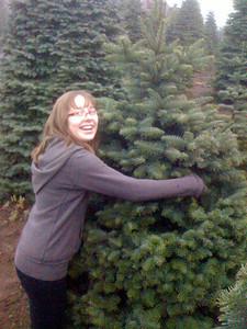 Nat liked the chubby tree