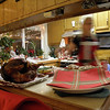 Susan and Erik make a fantastic Christmas Eve dinner