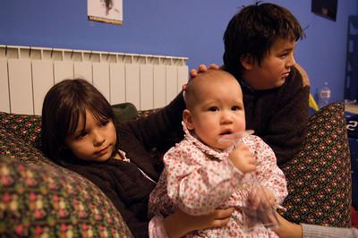 Alice with Octavia and Eduardo.