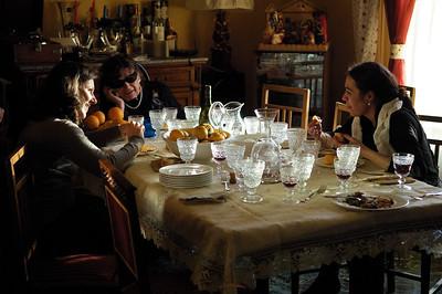 Laura, Sabrina and mama.