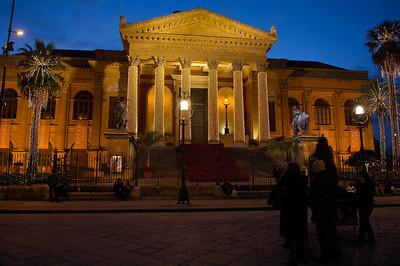 Teatro Massimo, Palermo.