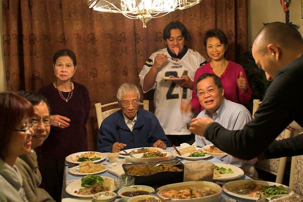 Christmas at Ba Ngoai's - 2007, 12/24
