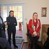 Tarheel Donaldsons visiting our little rented Asheville cottage.
