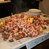 Shrimp boil provided by Jean and Jessie