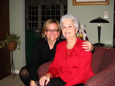 Erin and Grandma Barb