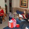 Opening Gifts, Karyn, Grace & Aaron