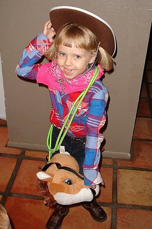 Evelyn on Halloween