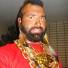 Curt as Mr. T