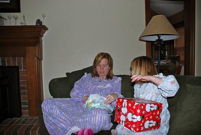 Christmas present opening 2009
