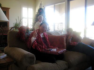 Christmas with Ya Li and Eric 2007
