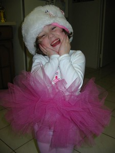 A little Russian balerina
