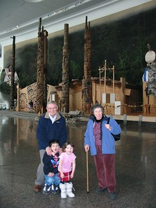 At the museum of Civilisation