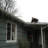 [11/28] Christmas preparations begin the Friday after Thanksgiving by putting up the Christmas lights on the house.