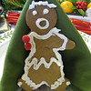 So at our traditional Christmas Dinner with the Turrells I was given the Gingerbread man with one arm missing!