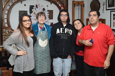 Sonia, Grandma, Ali, Carmen and Andrew