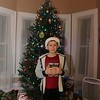 Daniel before opening Christmas Eve giftf