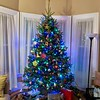Our Tree. Day before Christmas Eve