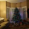 Tree on Christmas Eve