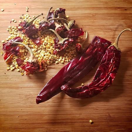 Christmas 2019 - Guajillo chilis