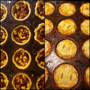Guy's first Mince Pies (Made under Chiyoko's instruction!)