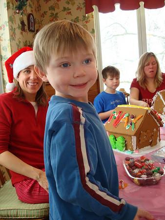 <b>Dec. '08: The Nutcracker Ballet & Gingerbread Construction</b>