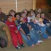 The grandkids-- Xavier, Joseph, Seth, Christian, Gabriel, Dominic, Trudy, Diego, Abigail, Zara, Kalina, Lydia, Luke (missing Logan, at home in TX)
