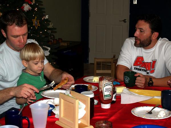 Breakfast at Blancos - Ash, Logan, Raul
