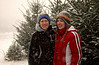 O Tannenbaum '09 (finding a tree) : We went to Springfield Twp. to find a tree, just as a snowstorm was kicking up