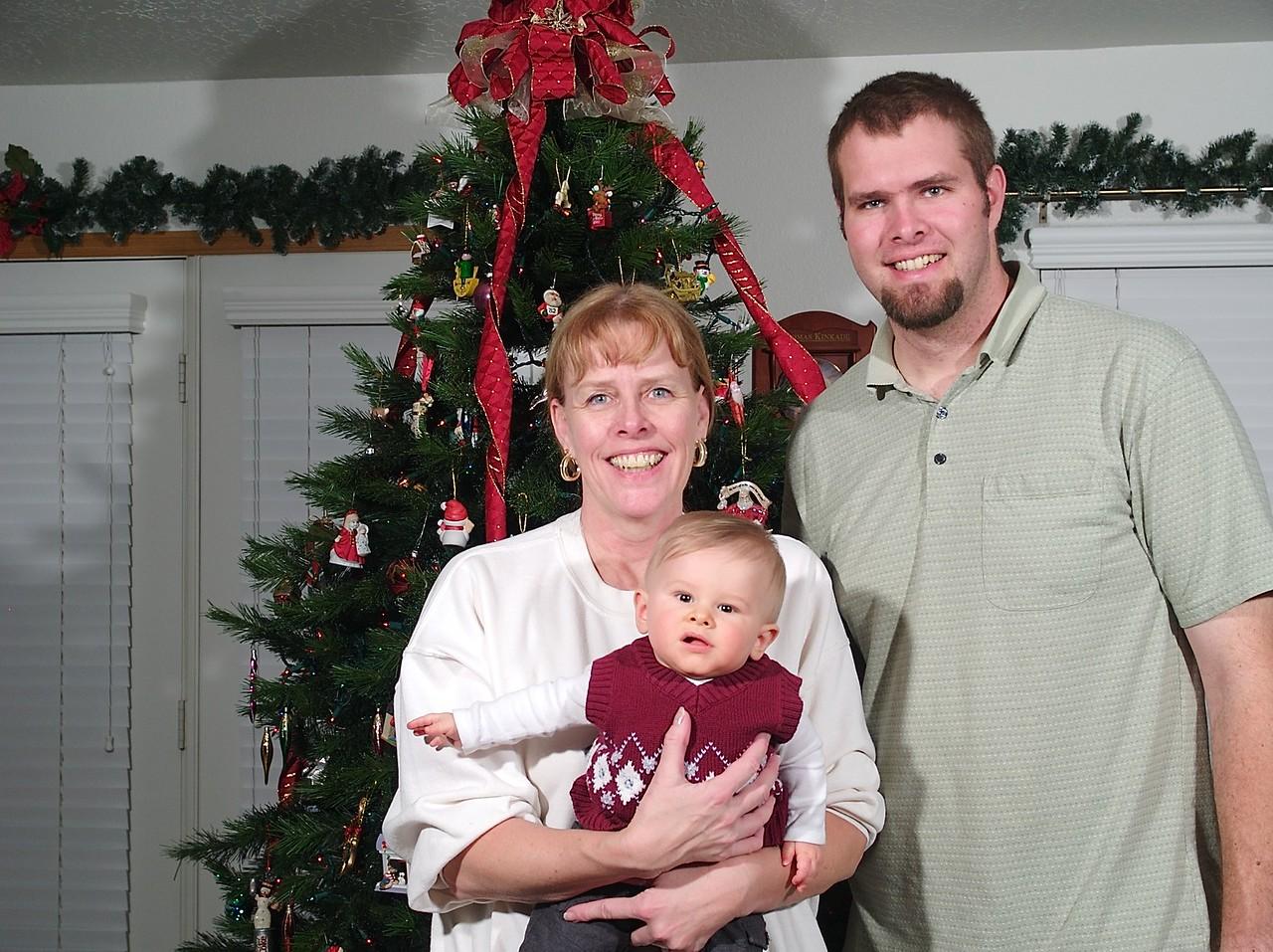 3 generations Tony's mom, Tony and Cody