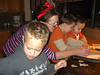 "Grammie and the boys making ""kimas"" cookies."