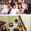 We kept a picture of the kids from 13 years ago at Chanh and Amy's wedding, and now, but with smiles.