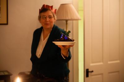 The Christmas pudding!
