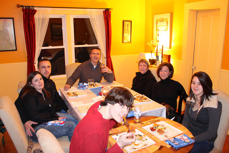 Brandon, Jill, Steve, Andrew, Mum, Jen, Kimmi.