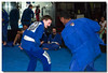Jacare is (was?) the world BJJ champion.  He came to visit the class as he is a friend of the instructor.