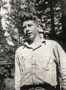 39. Charles (Chuck) Wildren Johnson, c. 1950, Myrtle Creek, OR