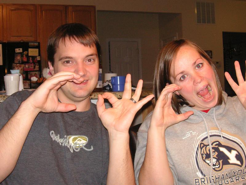 Chris and Cindy (Nov 24-28, 2010).