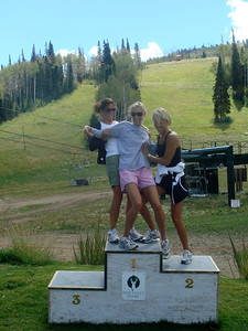 Cindy, Kelly & Laura fight for the #1 Podium Spot