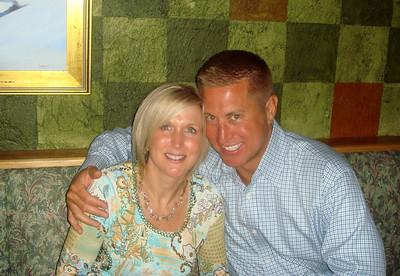 Renee and Doug feeling the love.