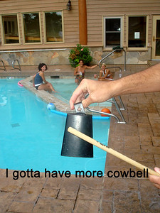 More COWBELL - From left Julie, Cindy, Laura