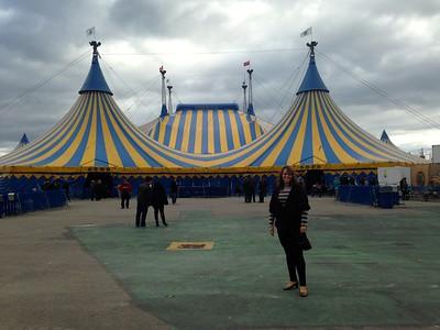 Cirque de Soleil with Liza