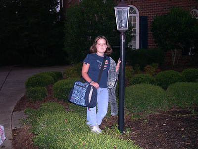 Claire - First Day of School 2005