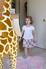 Claire gets giraffe 1