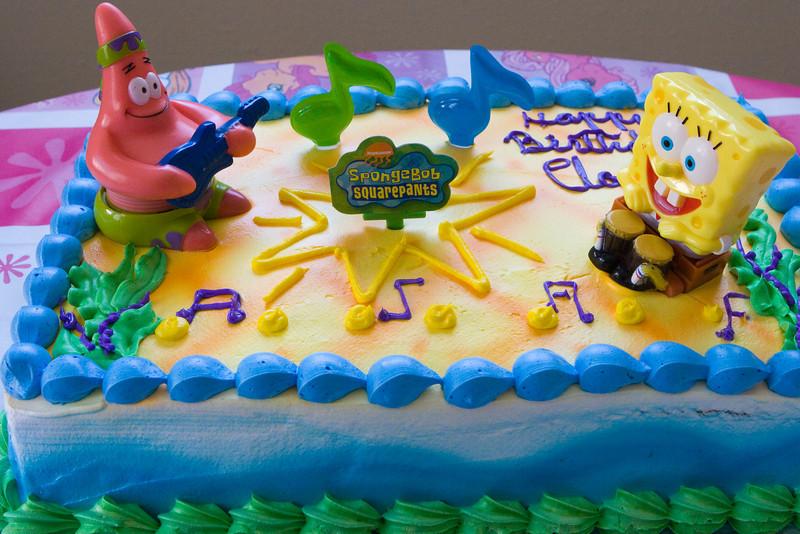 Sponge Bob Cake 1