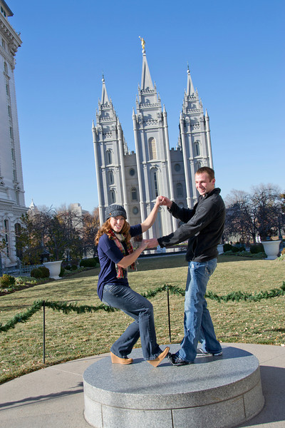 Newly married and headed to the temple next year!