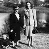 Mom and Clarita at Dillsboro 1946