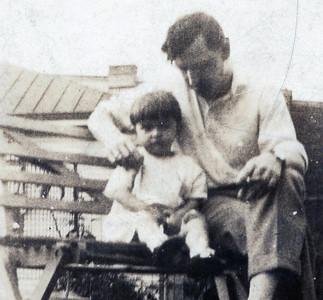 Clarita 1 year old and Elmer Fleish