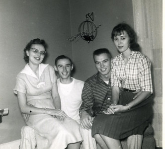 Gertie, Harry, Donnie & Bernice Kohls